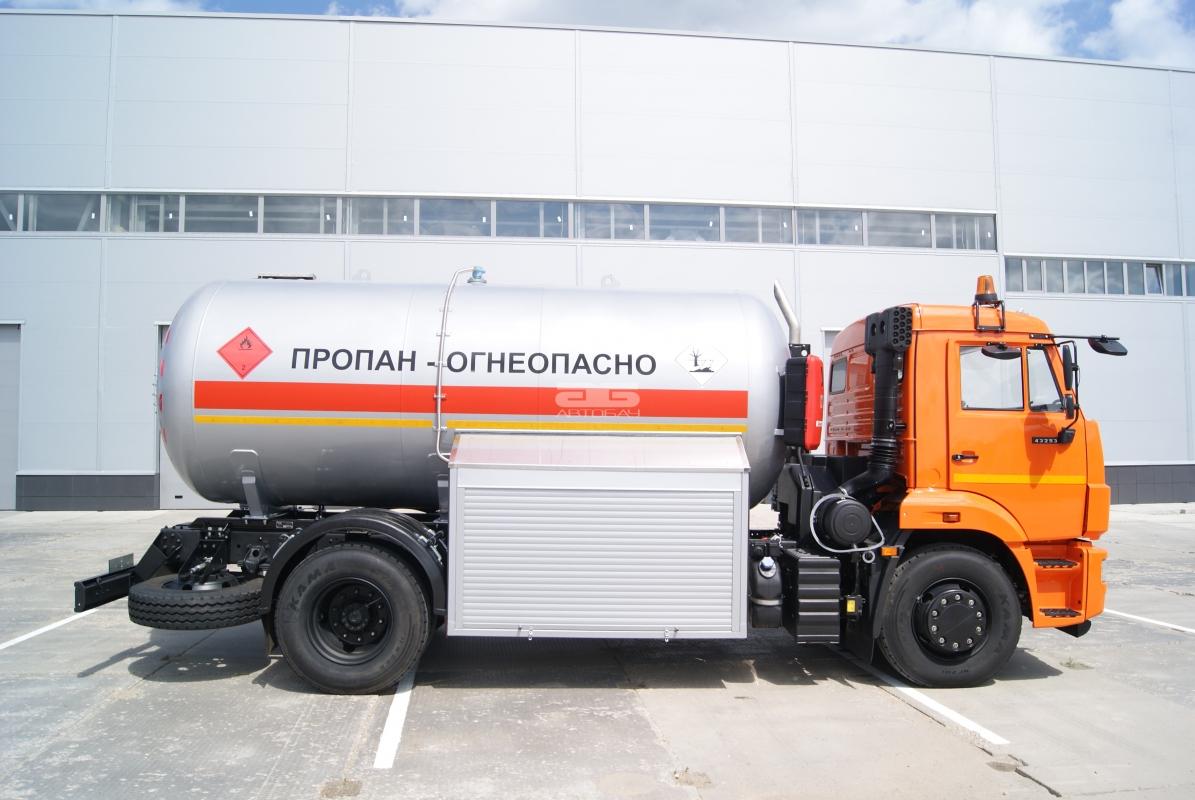 Базанов газовоз автоцистерна ацт 6 русская строительная бригада(